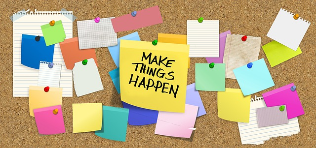 Bulletin Board - Make things happen